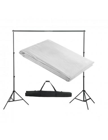 Fono rėmo sistema, 300 x 300 cm, balta | Fono Sistemos | duodu.lt
