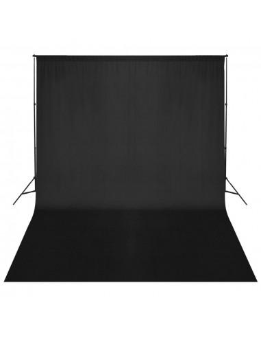 Fono rėmo sistema, 500 x 300 cm, juoda | Fono Sistemos | duodu.lt