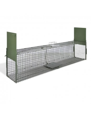 Spąstai gyvūnams su 2 durimis, 150 x 30 x 30 cm  | Spąstai gyvūnams | duodu.lt