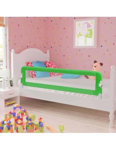 Apsauginis turėklas vaiko lovai, žal. sp., 120x42cm, poliest. | Apsauginiai turėklai kūdikiams | duodu.lt