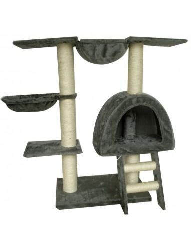 Kačių Draskyklė, 105 cm, Pilkas Pliušas | Draskyklės katėms | duodu.lt