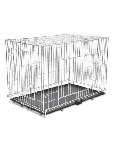 Sulankstomas metalinis šunų narvas, XXL  | Gyvūnų Nešyklės ir Transportavimo Boksai | duodu.lt
