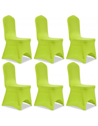 Tamprūs užvalkalai kėdėms, 6 vnt., Žalios spalvos | Baldų Užvalkalai | duodu.lt