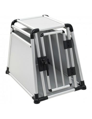 Šuns transportavimo dėžė, aliuminis, M  | Gyvūnų Nešyklės ir Transportavimo Boksai | duodu.lt