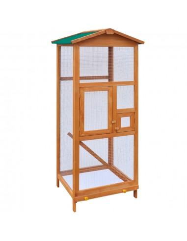 Voljeras paukščiams, medinis, 65 x 63 x 165 cm   Smulkių Gyvūnų Laikymo Talpos ir Narvai   duodu.lt
