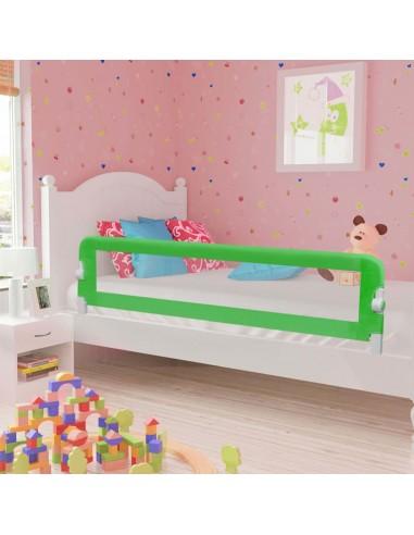 Apsauginis turėklas vaiko lovai, žal. sp., 180x42cm, poliest. | Apsauginiai turėklai kūdikiams | duodu.lt