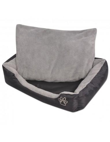 Šuns guolis su minkšta pagalvėle, dydis M, juodas   Šunų Gultai   duodu.lt