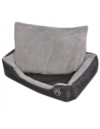 Šuns guolis su minkšta pagalvėle, dydis L, juodas | Šunų Gultai | duodu.lt