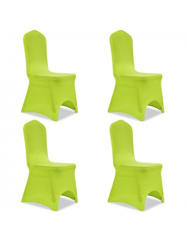Tamprūs užvalkalai kėdėms, 4 vnt., Žalios spalvos | Baldų Užvalkalai | duodu.lt