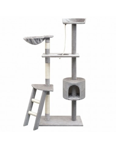 Draskyklė katėms su stovais iš sizalio, 150cm, pilka   Draskyklės katėms   duodu.lt