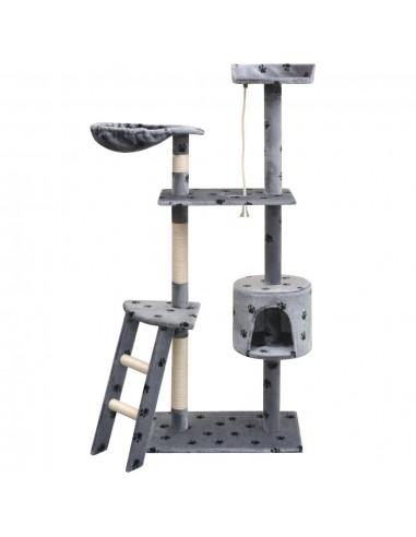 Draskyklė katėms su stov. iš sizalio, 150cm, pilkas pėd. raštas | Draskyklės katėms | duodu.lt