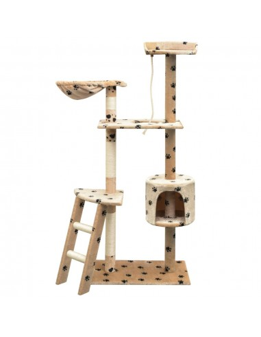 Draskyklė katėms su stovu iš sizalio, 150cm, smėlio sp. pėdut.   Draskyklės katėms   duodu.lt