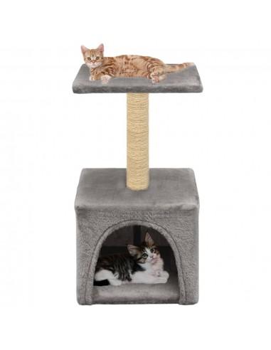 Draskyklė katėms su stovu iš sizalio, 55 cm, pilka   Draskyklės katėms   duodu.lt