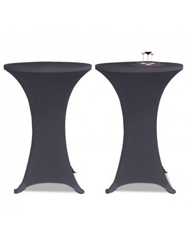 Tampri staltiesė, 2 vnt., Skersmuo 60 cm, Antracito spalvos | Baldų Užvalkalai | duodu.lt