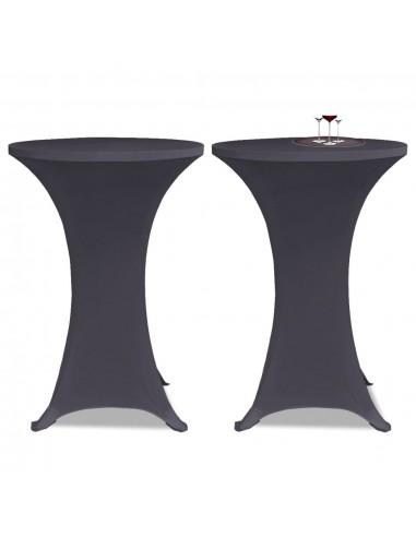 Tampri staltiesė, 2 vnt., Skersmuo 80 cm, Antracito spalvos | Baldų Užvalkalai | duodu.lt
