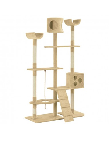 Draskyklė katėms su stovais iš sizalio, smėl. sp., 180cm   Draskyklės katėms   duodu.lt