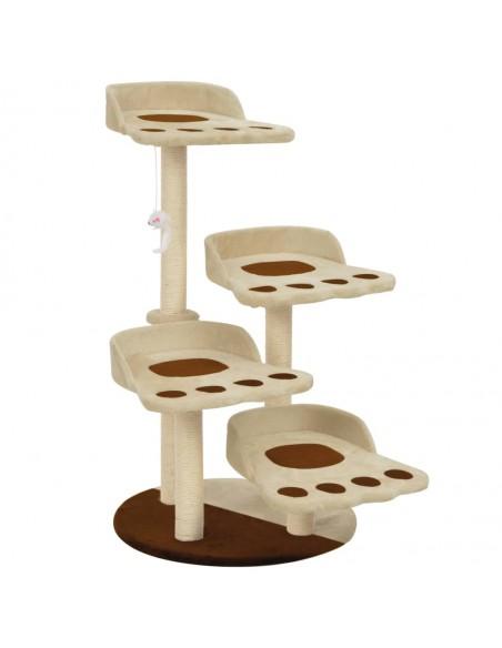 Blizgus kavos staliukas su apatine lentyna, 110x60x40cm, baltas  | Kavos Staliukai | duodu.lt