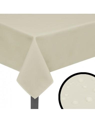 Staltiesės, 5 vnt., kremo spalvos, 190x130 cm | Baldų Užvalkalai | duodu.lt