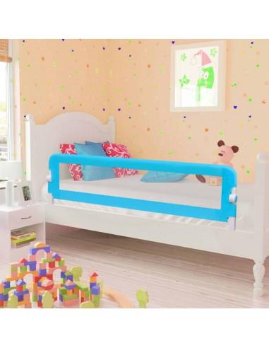 Apsauginis turėklas vaiko lovai, mėl. sp., 120x42cm, poliest. | Apsauginiai turėklai kūdikiams | duodu.lt