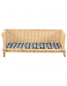 Bambukinis kavos staliukas, aštuonkampis, 60x60x45 cm | Kavos Staliukai | duodu.lt