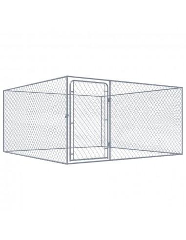 Lauko voljeras šunims, 2x2x1m, galvanizuotas plienas   Būdos ir voljerai šunims   duodu.lt