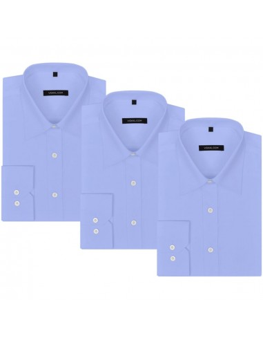 Vyriški kostiumo marškiniai, 3 vnt. dydis S, šviesiai mėlyni | Marškiniai ir Palaidinės | duodu.lt