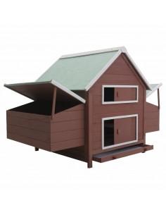 Kavos staliukas, poliruota akacijos mediena, 110x60x40 cm | Kavos Staliukai | duodu.lt