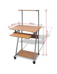 Konsolinis staliukas, erozijos efektas, tikmedis, 120x35x76cm   Žurnaliniai Staliukai   duodu.lt