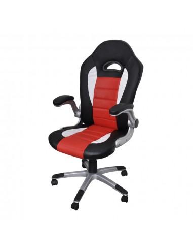 Modernaus Dizaino, Dirbtinės Odos Biuro Kėdė, Raudona | Ofiso Kėdės | duodu.lt