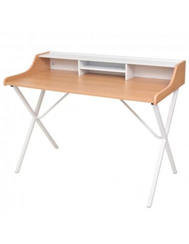 Darbo, kompiuterio stalas, natūralios medienos spalvos  | Rašomieji Stalai | duodu.lt