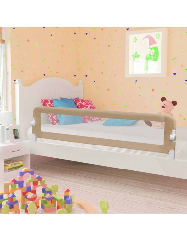 Apsauginis turėklas vaiko lovai, taupe sp., 180x42cm, poliest.   Apsauginiai turėklai kūdikiams   duodu.lt