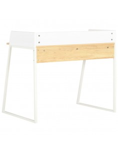 Rašomasis stalas, masyvi rausv. dalb. mediena, 140x50x76 cm | Rašomieji Stalai | duodu.lt