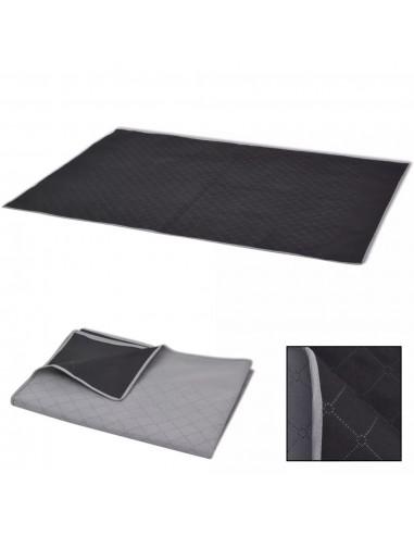 Paklotas iškyloms, pilkas ir juodas, 100 x 150 cm   Iškylavimo paklodės   duodu.lt