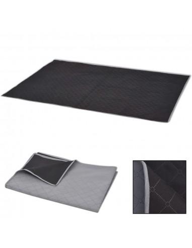 Paklotas iškyloms, pilkas ir juodas, 150 x 200 cm | Iškylavimo paklodės | duodu.lt