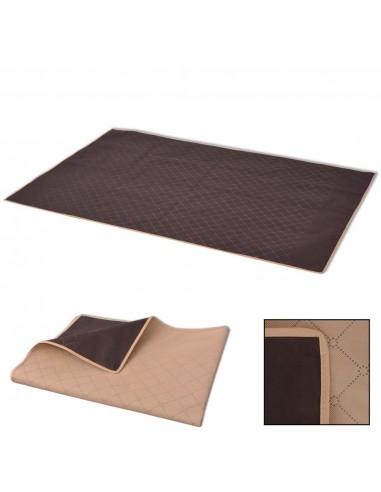 Paklotas iškyloms, šviesiai rudas ir rudas, 150x200 cm | Iškylavimo paklodės | duodu.lt