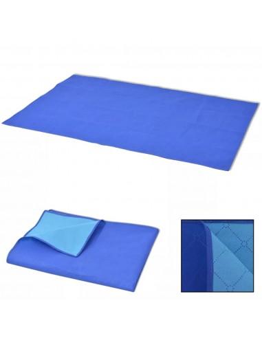 Paklotas iškyloms, mėlynas ir šviesiai mėlynas, 100x150 cm   Iškylavimo paklodės   duodu.lt