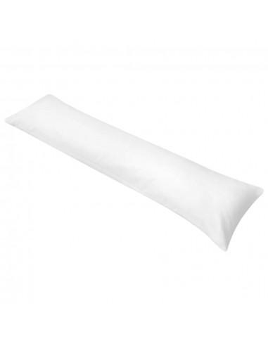 Šoninė pagalvė kūnui, 40x145 cm, balta | Pagalvės | duodu.lt