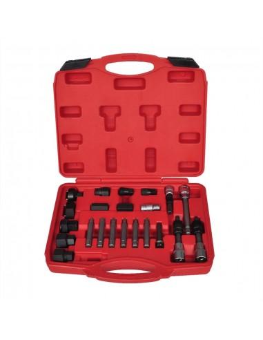 22 Įrankių Rinkinys Generatoriaus Skriemulio Išėmimui | Darbo Įrankiai | duodu.lt
