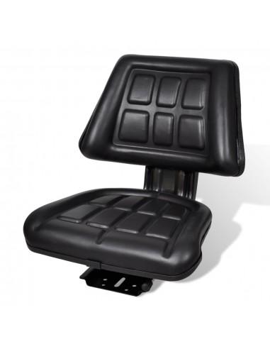 Traktoriaus sėdynė su atlošu, juoda | Traktorių Dalys ir Priedai | duodu.lt