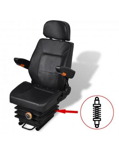 Traktoriaus sėdynė su amortizatoriumi   Traktorių Dalys ir Priedai   duodu.lt