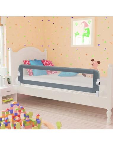 Apsauginis turėklas vaiko lovai, pilk. sp., 120x42cm, poliest.   Apsauginiai turėklai kūdikiams   duodu.lt