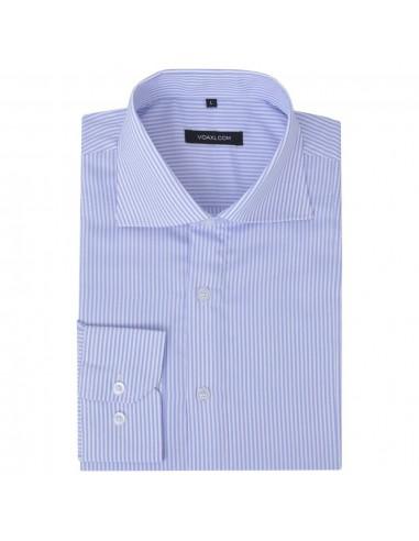 Vyriški kostiumo marškiniai, dydis M, baltos/žydros juostelės | Marškiniai ir Palaidinės | duodu.lt