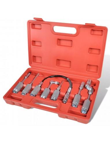 Naujas 7 Dalių Tepimo Švirkštų Antgalių, Adapterių Rinkinys | Darbo Įrankiai | duodu.lt