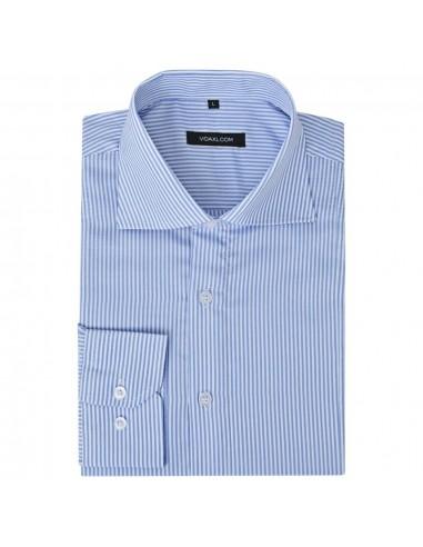 Vyriški kostiumo marškiniai, dydis M, baltos/mėlynos juostelės | Marškiniai ir Palaidinės | duodu.lt