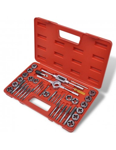 Įrankių sriegikliams komplektas, 40 vnt.   Rankinių Įrankių Rinkiniai   duodu.lt