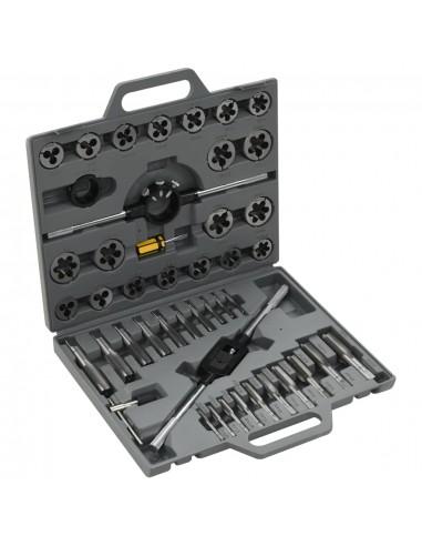 Įrankių sriegikliams komplektas, 45 vnt.   Rankinių Įrankių Rinkiniai   duodu.lt