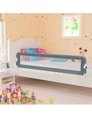 Apsauginis turėklas vaiko lovai, pilk. sp., 180x42cm, poliest.   Apsauginiai turėklai kūdikiams   duodu.lt