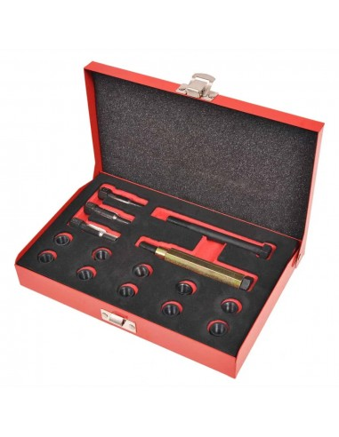 Kaitinimo žvakės sriegių taisymo rinkinys, 15 d. M10x1,0mm   Darbo Įrankiai   duodu.lt