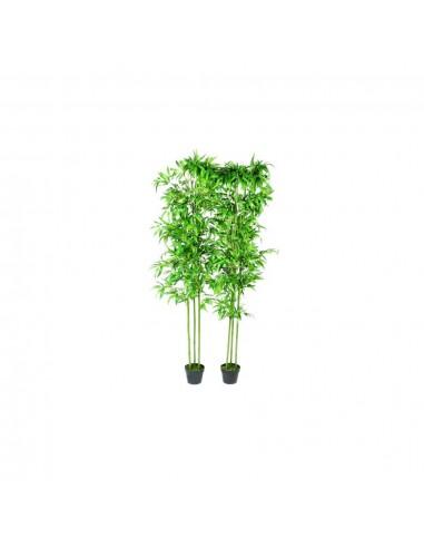 2 Dirbtiniai Bambukai Namų Dekorui 190 cm   Dirbtiniai Augalai   duodu.lt