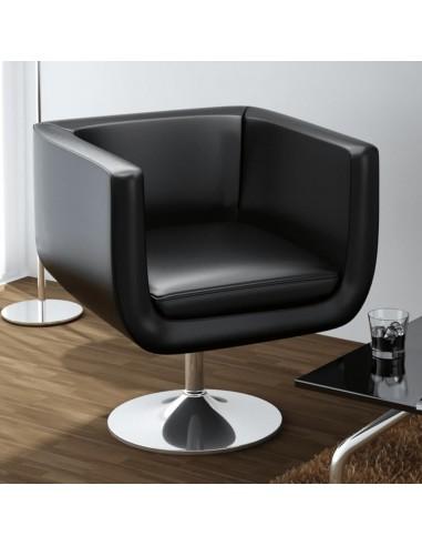 Baro kėdė, dirbtinė oda, juoda   Foteliai, reglaineriai ir išlankstomi krėslai   duodu.lt